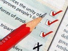 Completing paid surveys online